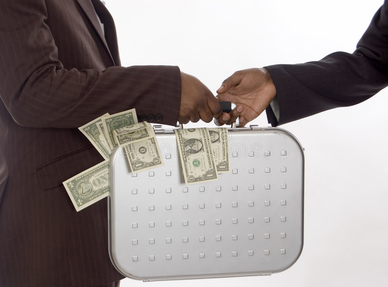 Rich Give Away stock images