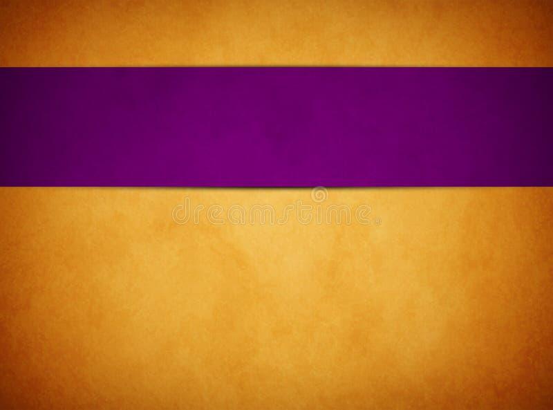 Rich Gold Background elegante Rich Purple Banner royalty illustrazione gratis