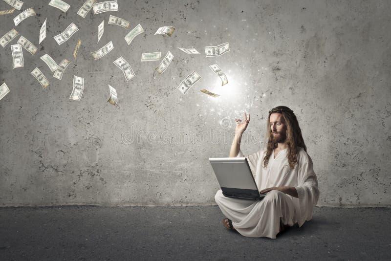 Rich Jesus imagem de stock