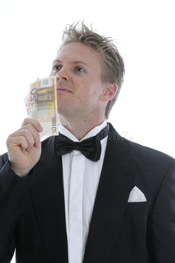 Download Rich man in dinner jacket stock photo. Image of affluent - 5621388