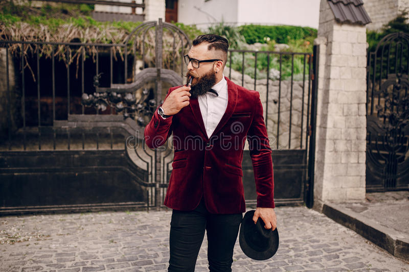 Download Rich man stock image. Image of intellectual, fashionable - 54410707