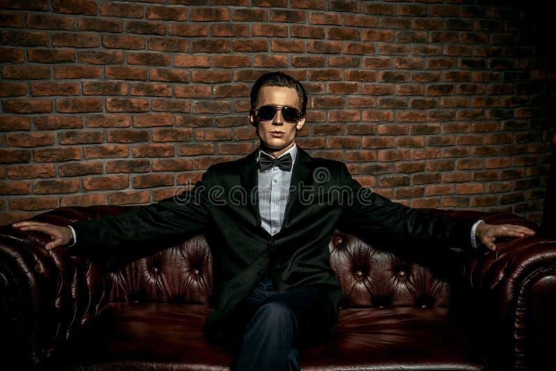 Rich man royalty free stock photo