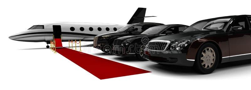 Rich People Rides illustration de vecteur