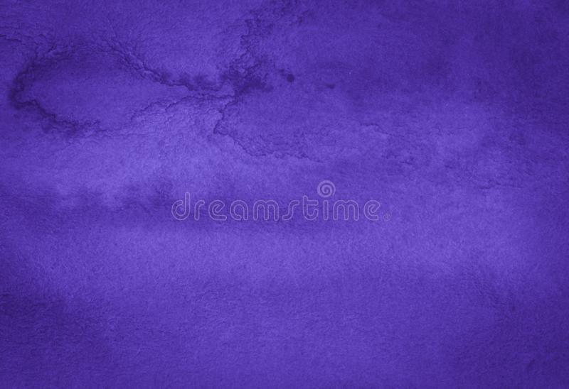 Rich Purple Watercolor background with bizarre natural divorces and stripes. Abstract frame with copy space. Rich Purple Watercolor background with bizarre vector illustration