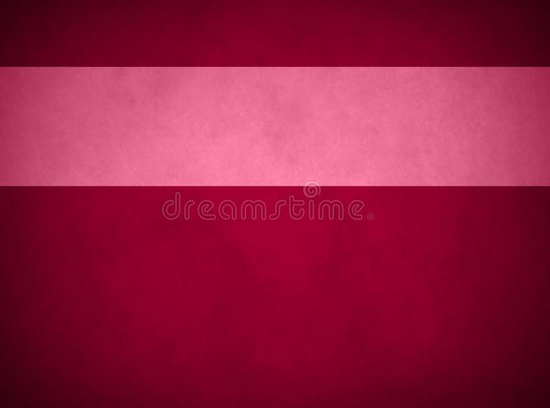 Elegant Rich Red Parchment. Textured Red Banner. royalty free stock photos