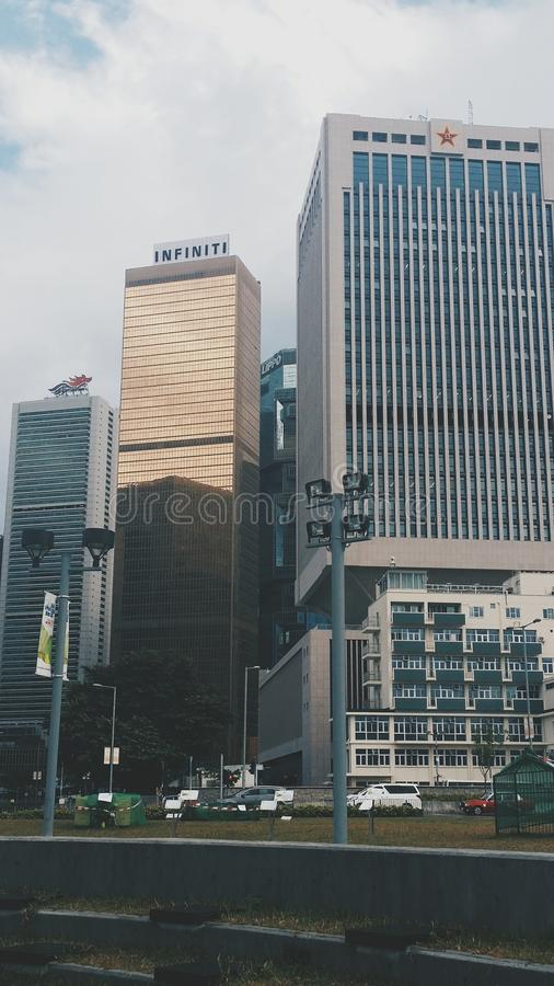 Rich Skyscraper imagenes de archivo