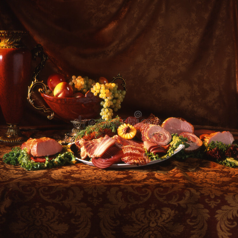 Rich table stock images
