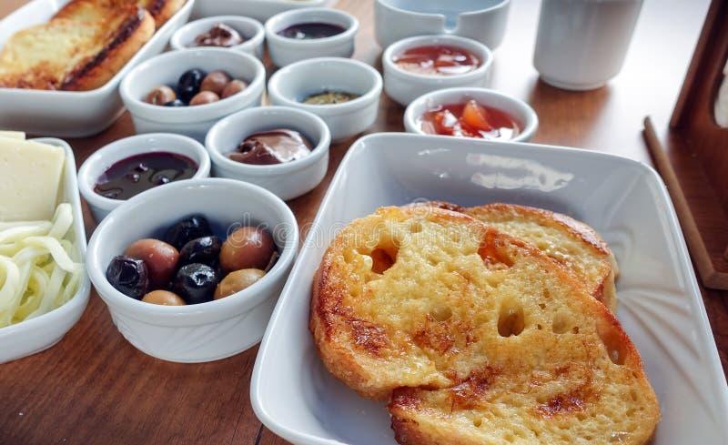 Rich Turkish Breakfast traditionnel photographie stock libre de droits