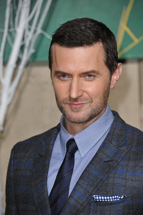 Richard Armitage. LOS ANGELES, CA - DECEMBER 9, 2014: Richard Armitage at the Los Angeles premiere of his movie The Hobbit: The Battle of the Five Armies at the stock photography