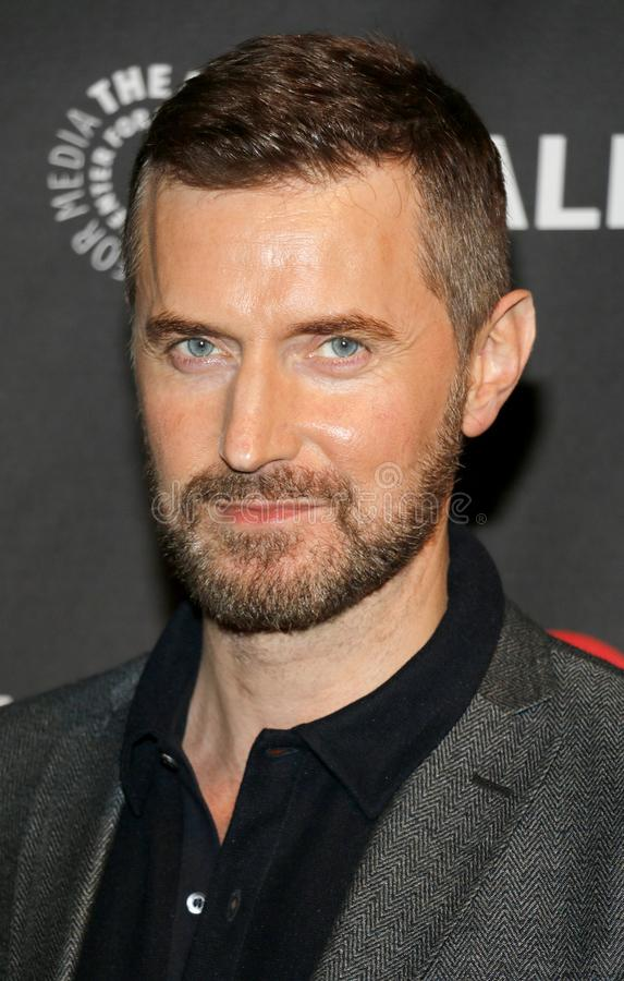 Richard Armitage. At the 11th Annual PaleyFest Fall TV Previews - EPIX`s `Berlin Station` held at the Paley Center for Media in Beverly Hills, USA on September stock photos