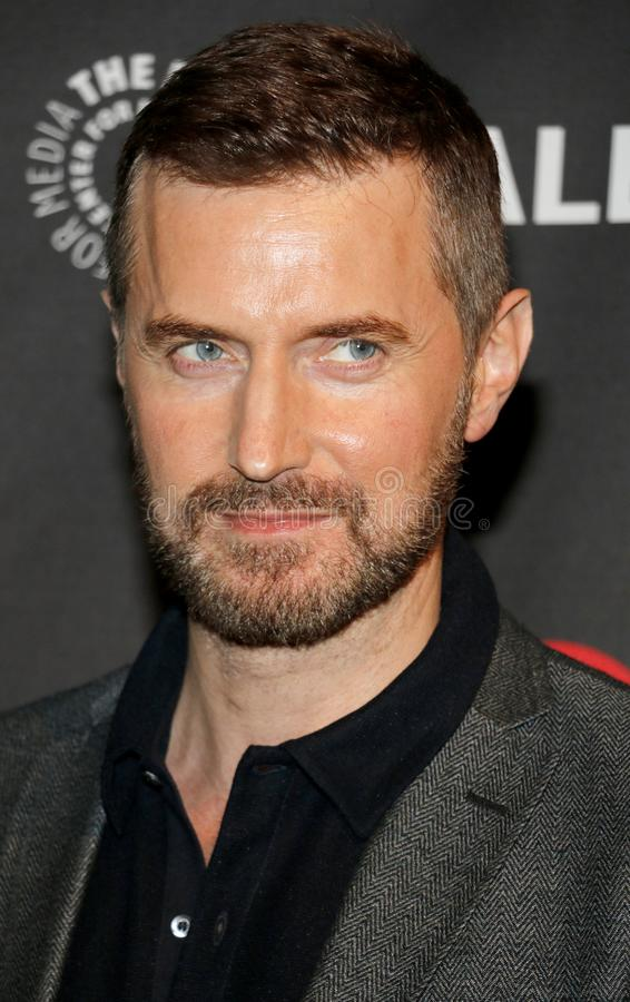 Richard Armitage. At the 11th Annual PaleyFest Fall TV Previews - EPIX`s `Berlin Station` held at the Paley Center for Media in Beverly Hills, USA on September royalty free stock photography