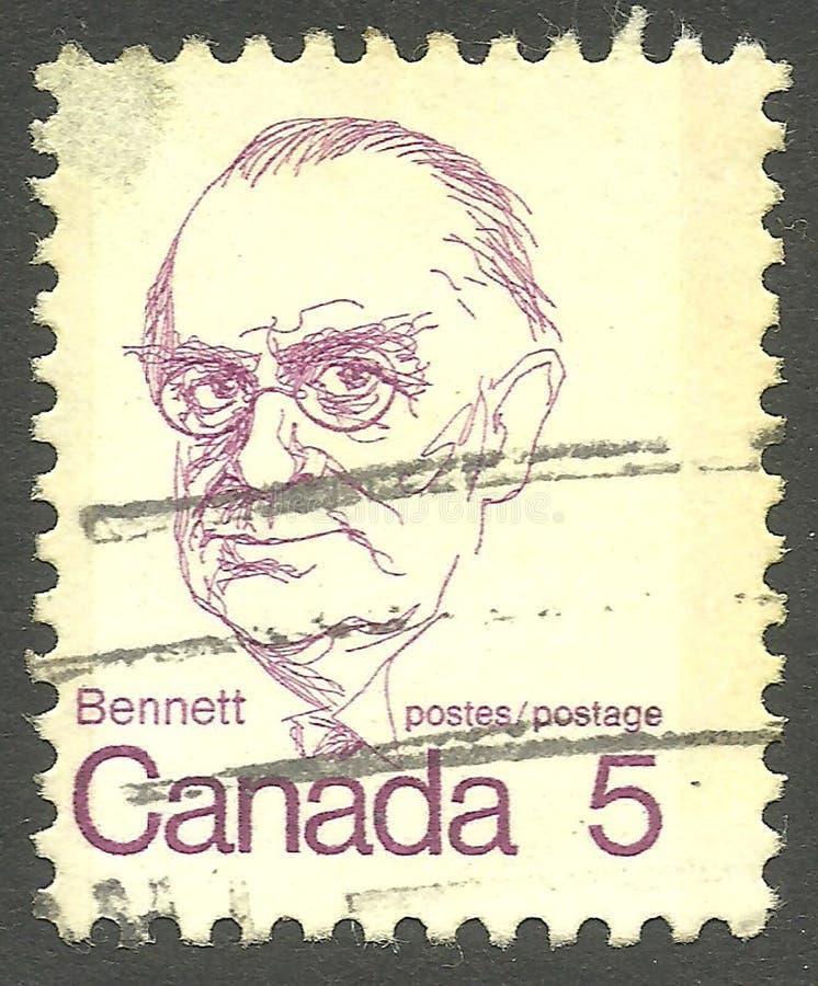 Richard Bedford Bennett photographie stock