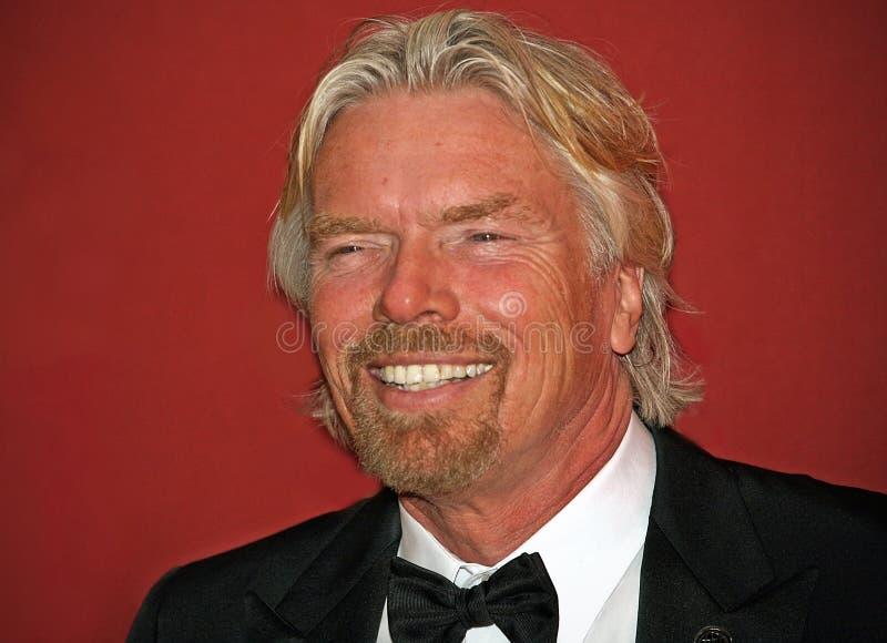 Richard Branson fotografie stock