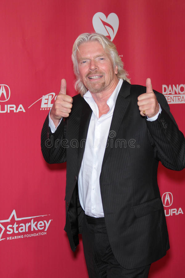 Richard Branson. At the 2012 MusiCares Person Of The Year honoring Paul McCartney, Los Angeles Convention Center, Los Angeles, CA 02-10-12 royalty free stock photography