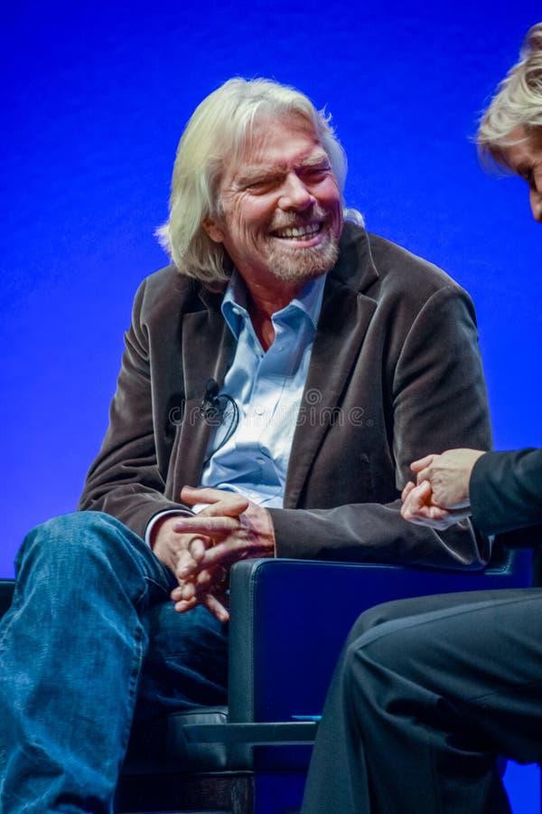 Richard Branson, fundador y presidente del grupo de la Virgen imagen de archivo