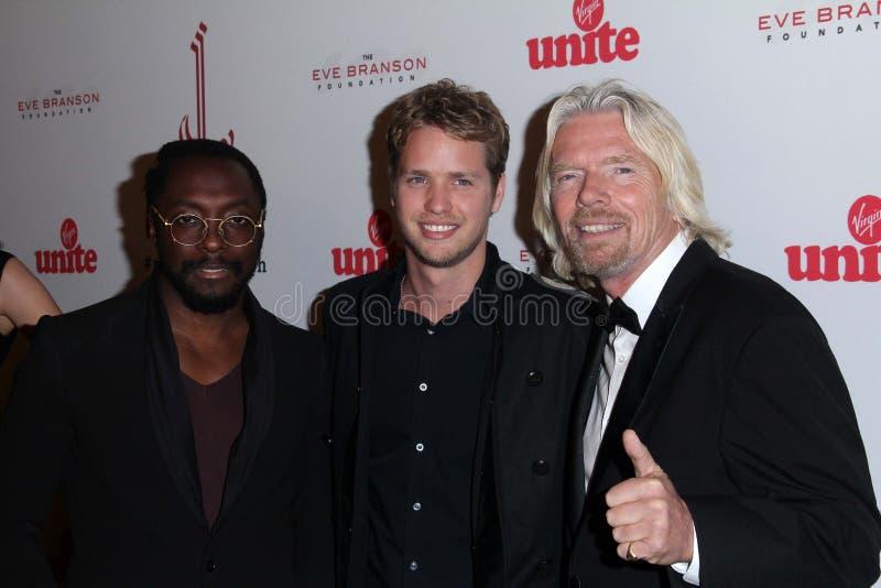 Richard Branson, Sam Branson, photos stock