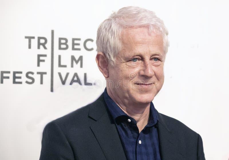 Richard Curtis bij Wereldpremi?re van ?gisteren ?bij de Filmfestival van Tribeca van 2019 stock afbeeldingen