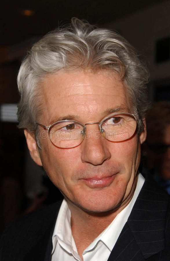 Richard Gere. At the Los Angeles Screening of The Hoax. Mann Festival, Westwood, CA. 03-18-07 stock image