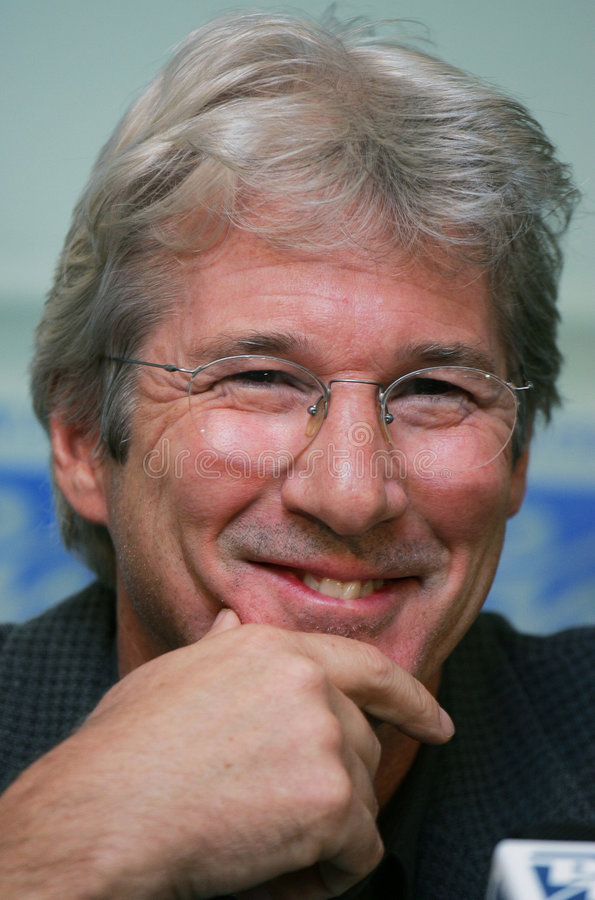 Richard Gere imagem de stock royalty free
