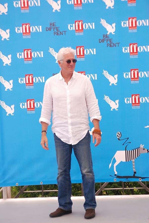 Richard Gere al Giffoni Film Festival 2014 royalty-vrije stock foto