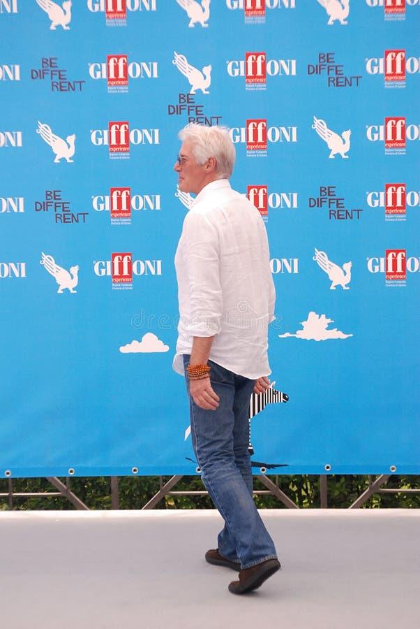 Richard Gere al Giffoni Film Festival 2014 royalty-vrije stock fotografie