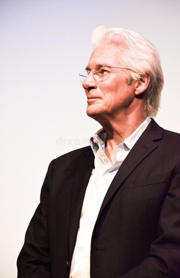 Richard Gere bij de première van ` Drie Christs ` bij TIFF17 royalty-vrije stock foto's