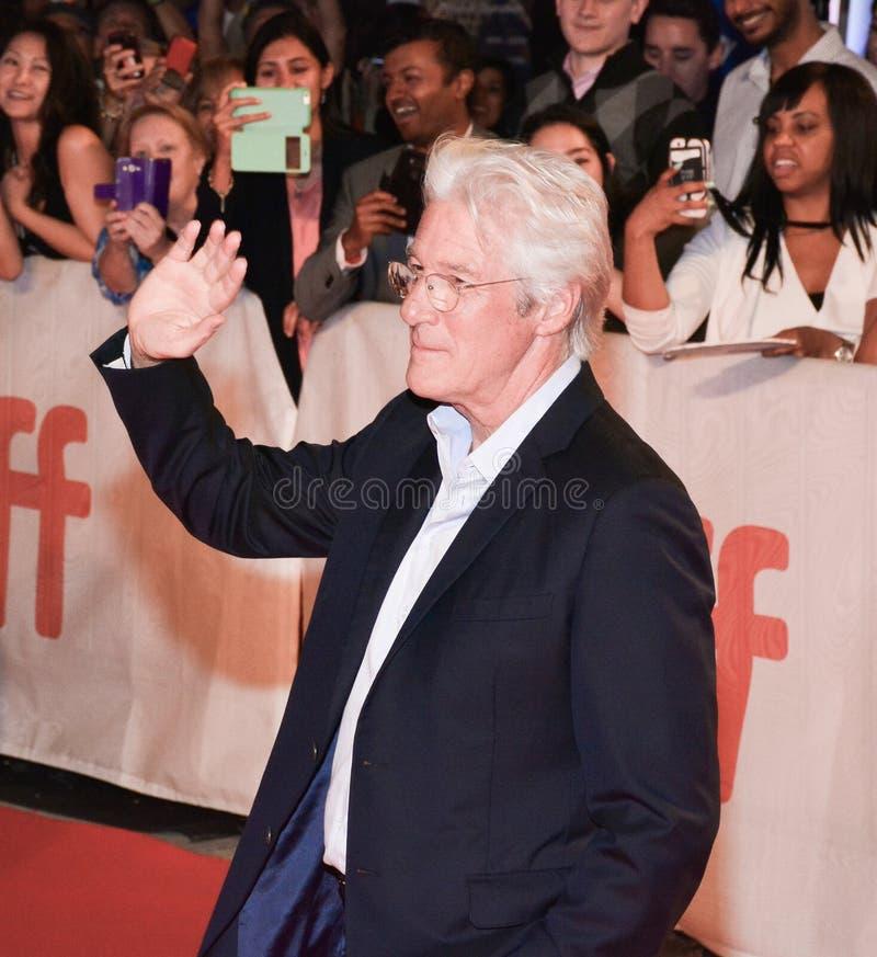 Richard Gere bij de première van ` Drie Christs ` bij TIFF17 royalty-vrije stock afbeeldingen