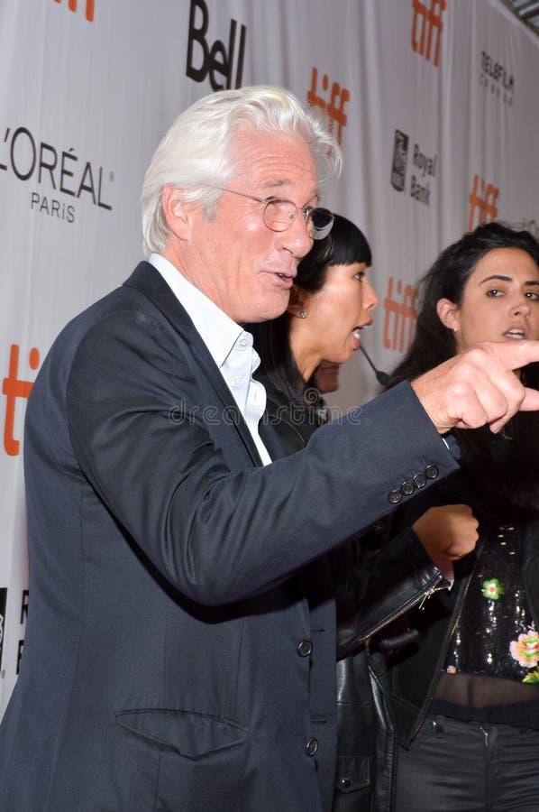 Richard Gerencia na premier do ` de Christs do ` três no festival de cinema do international de toronto imagem de stock royalty free