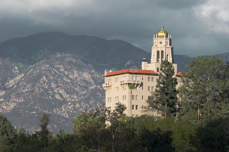 Richard H Kammer-Gericht in Pasadena stockfotografie