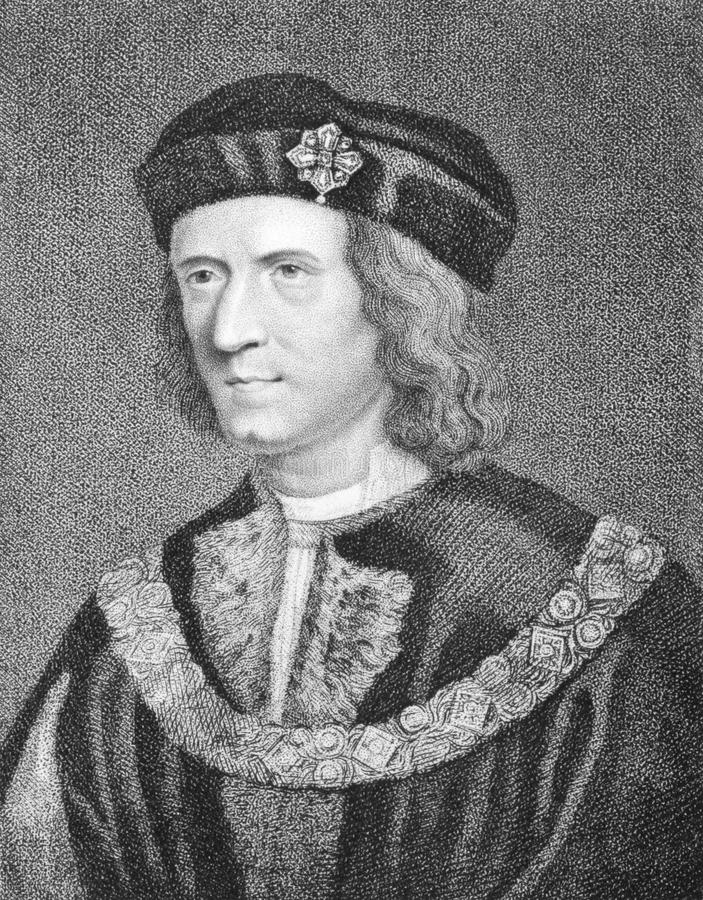 Richard III. (1452-1485) on engraving from the 1800s. King of England during 1483-1485. Engraved by G.N.Gardiner and published in 1806 by E.Jeffery, No11, Pall vector illustration
