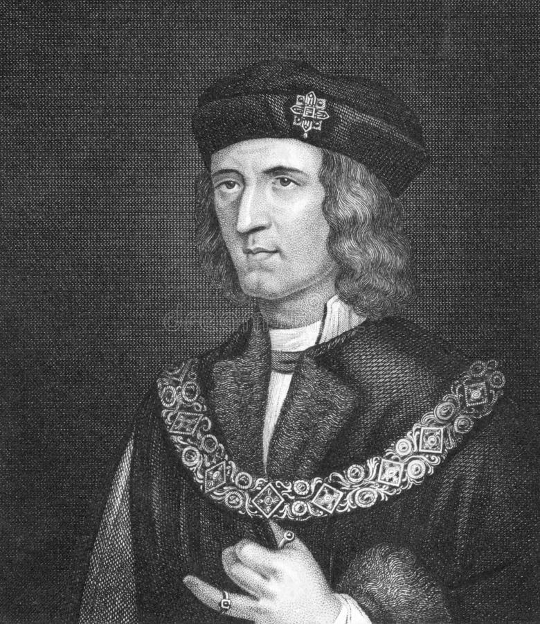 Richard III. Of England (1452-1485) on engraving from 1830. King of England during 1483-1485. Published in London by Thomas Kelly vector illustration
