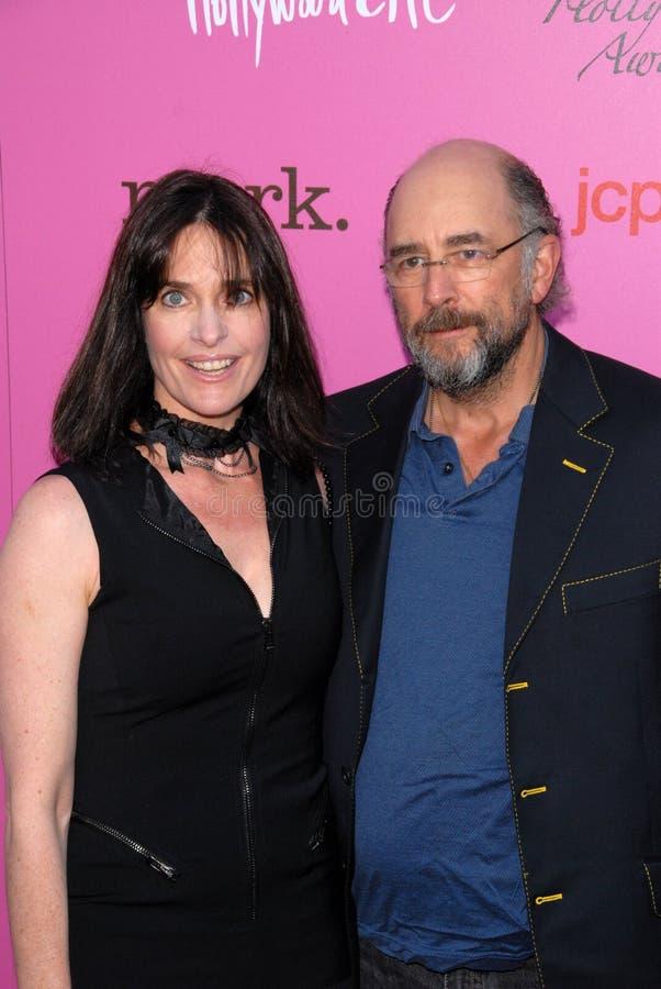 Richard Schiff, Sheila Kelley foto de archivo