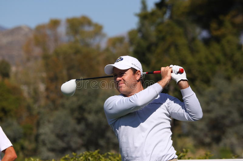 Download Richard Sterne At Andalucia Golf Open, Marbella Editorial Stock Photo - Image: 23917678
