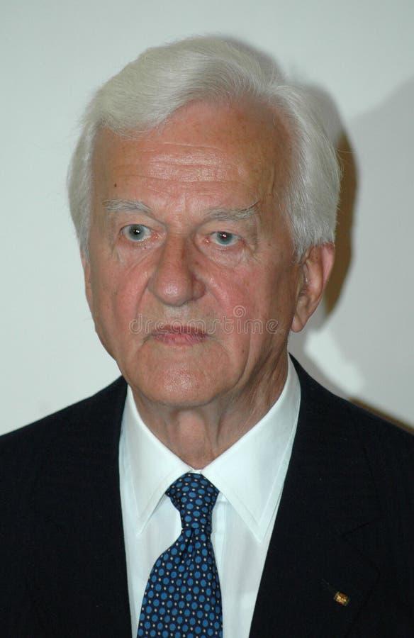 Richard von Weizsaecker royalty-vrije stock foto's