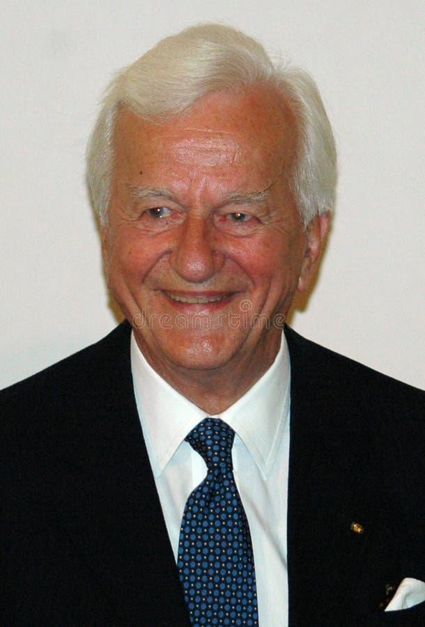Richard von Weizsaecker royalty-vrije stock afbeelding