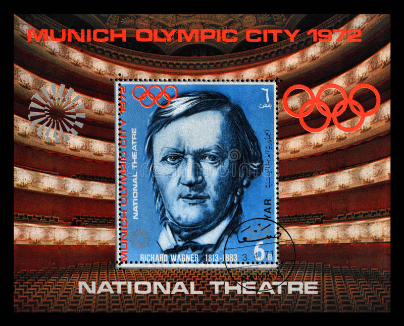 Richard Wagner royalty free stock photography