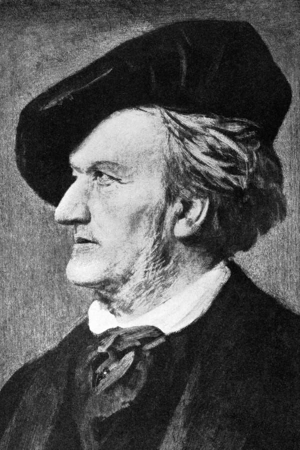 Richard Wagner royalty-vrije stock fotografie