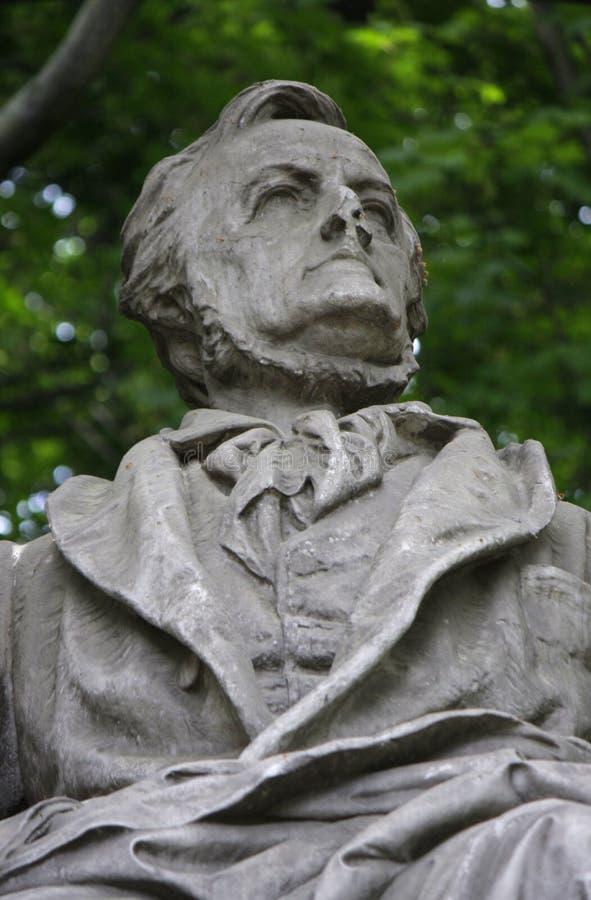 Richard Wagner-gedenkteken stock fotografie