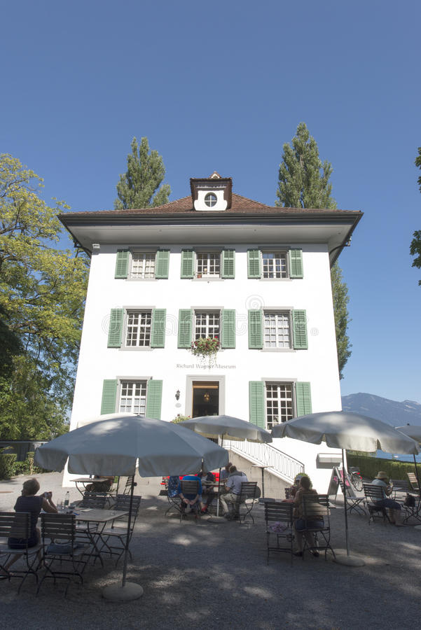 Richard Wagner museum, Lucerne royalty free stock photo