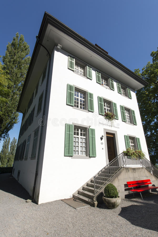 Richard Wagner museum, Lucerne royalty free stock images