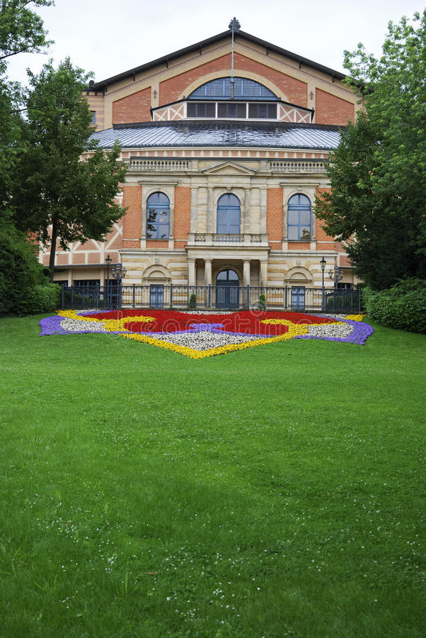 Richard Wagner Opera house. In Bayreuth (Germany stock images