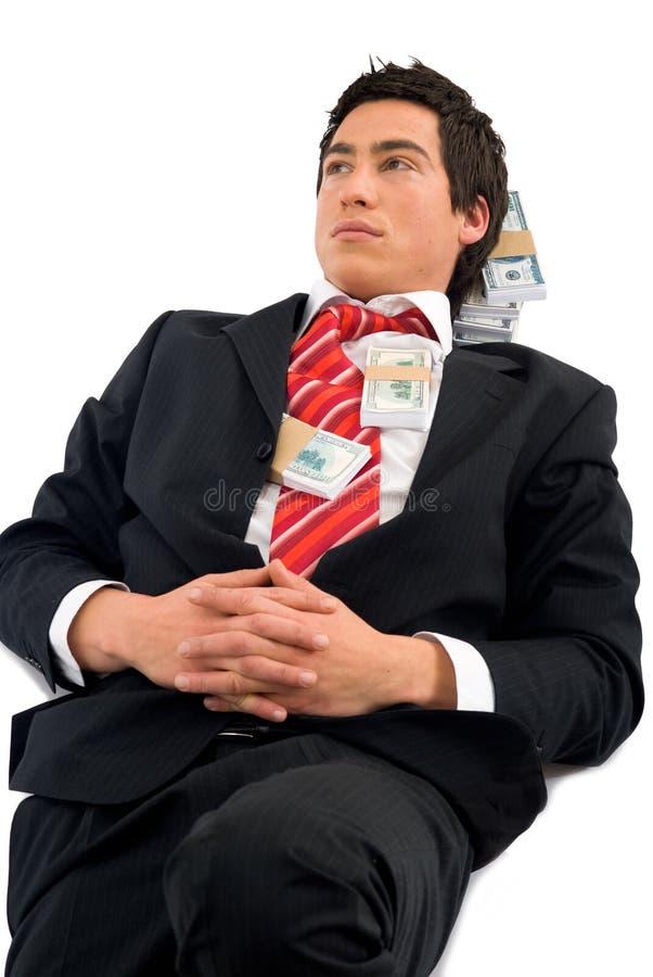 riches d'homme photographie stock libre de droits