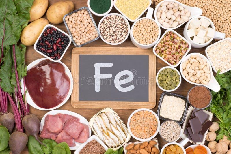 riches de nourriture en fer photo stock