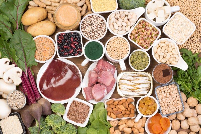 riches de nourriture en fer image libre de droits