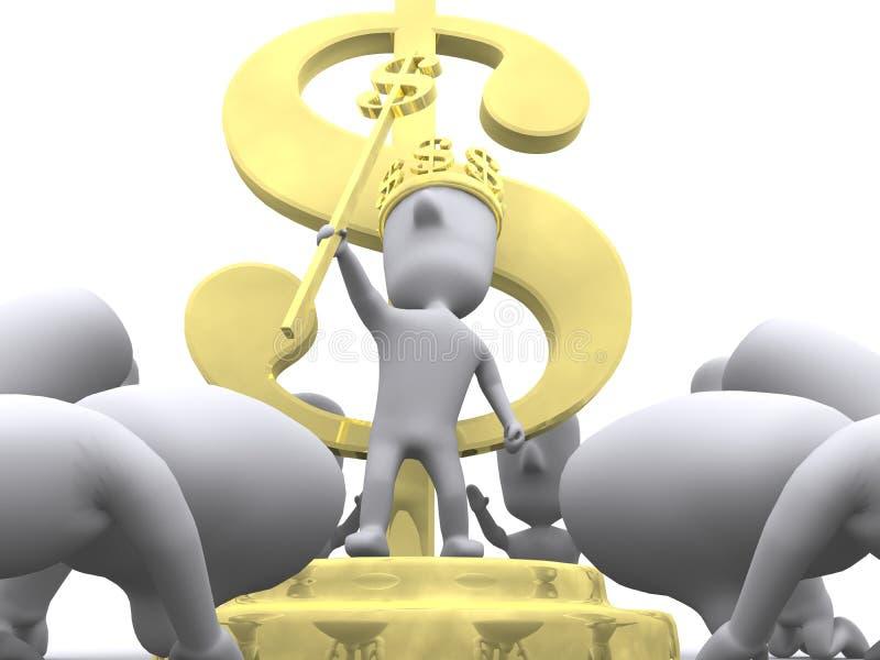 Richesse de culte illustration de vecteur