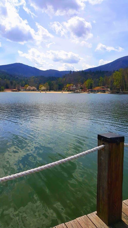 Richiamo del lago, NC fotografia stock