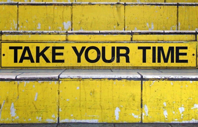 Richieda il vostro tempo fotografia stock libera da diritti