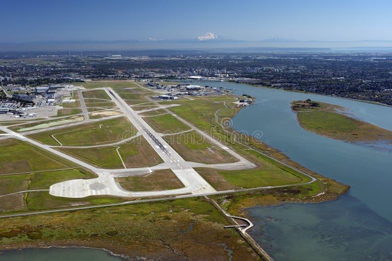 Richmond, île de mer et Vancouver, BC, le Canada image libre de droits