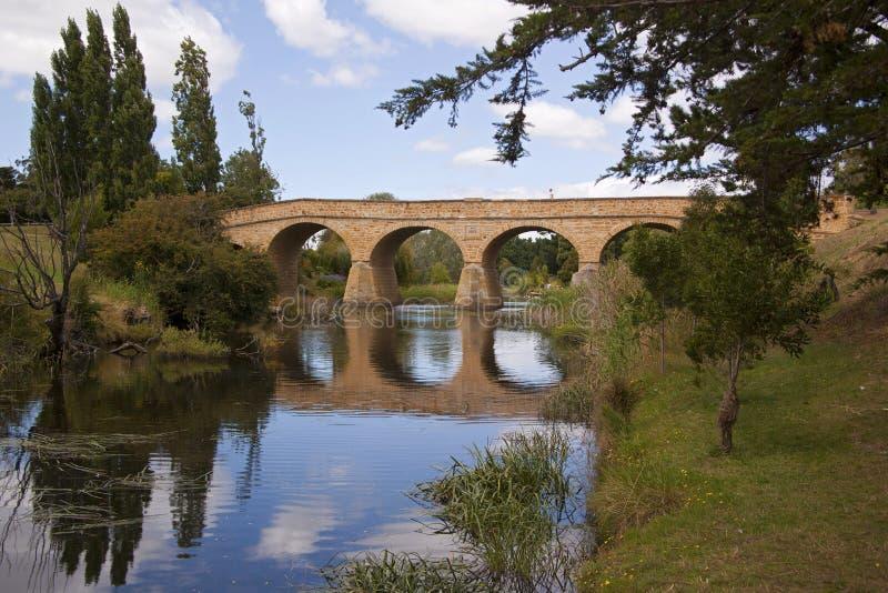 Richmond-Brücke, Tasmanien lizenzfreie stockfotos