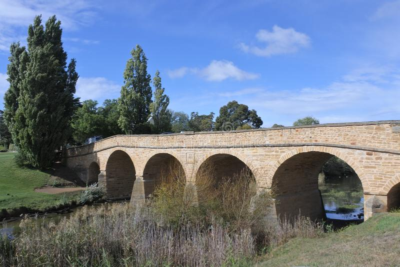 Richmond Bridge en Richmond Tasmania Australia images stock